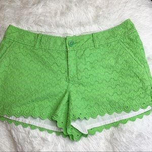 Lime Green Lily Pulitzer shorts